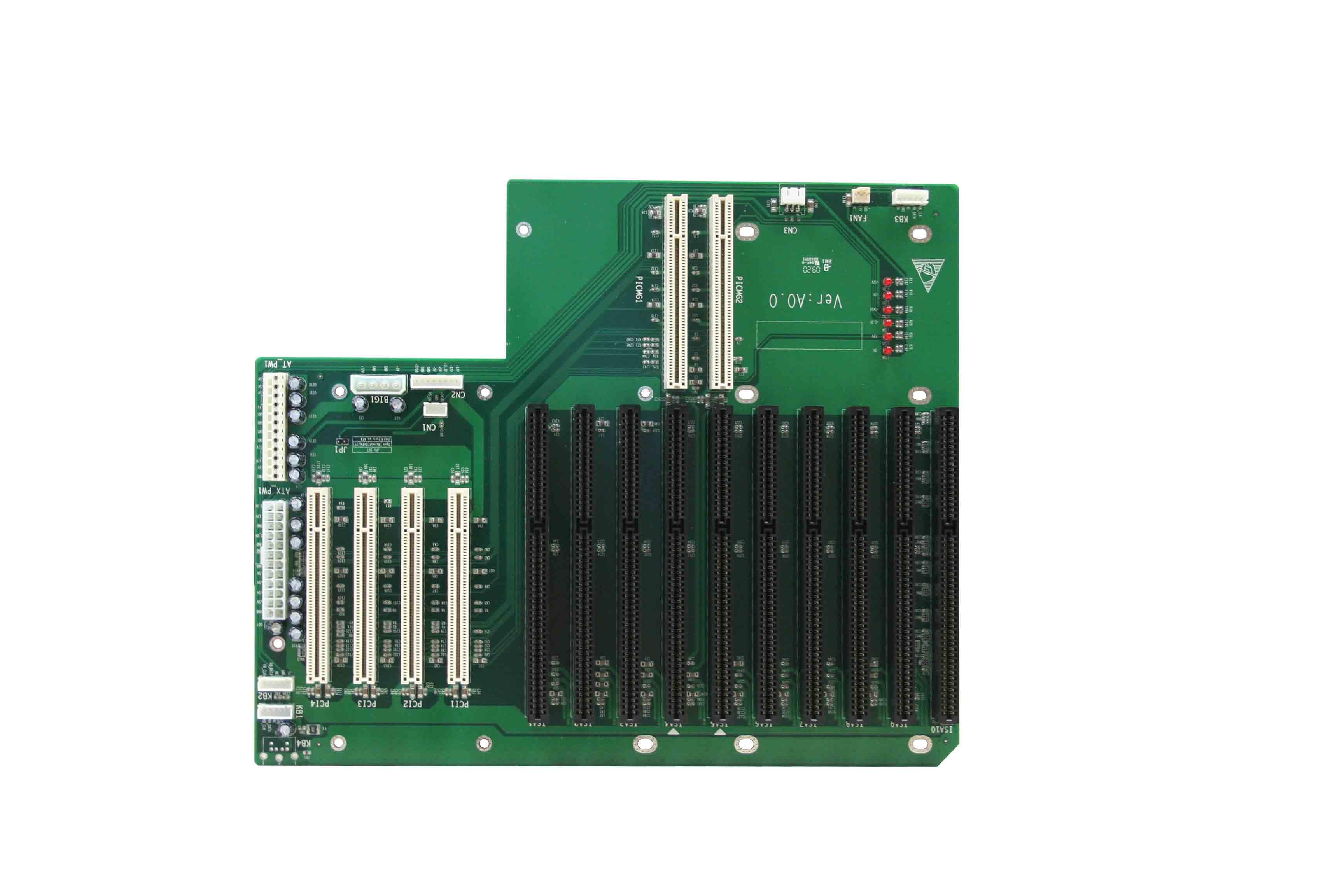 提供5项电源指示灯   ★支持标准at/atx电源供电   ★产品尺寸